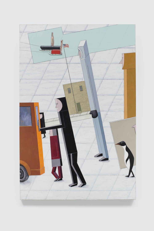 Departure (after El Lissitzky)