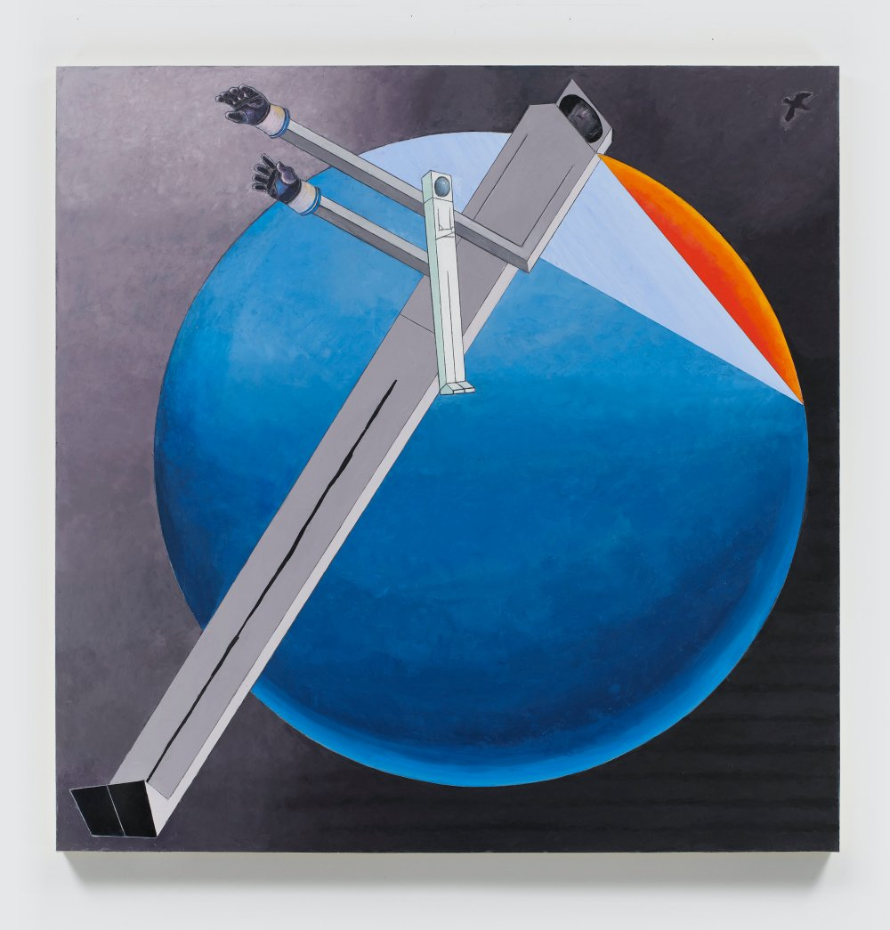 Astronauts: Sunset (after El Lissitzky)