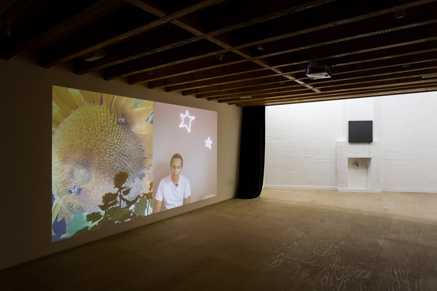 Installation views of Syncopes at Mimosa House