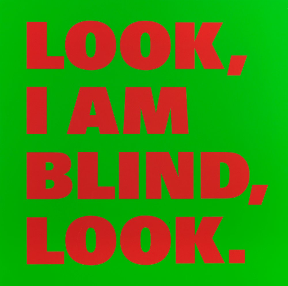 LOOK/I AM/BLIND/LOOK (Nr. 23)