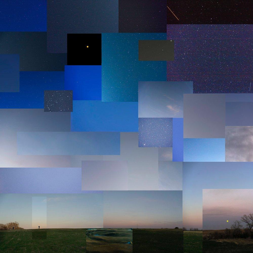 Night, near Salina, Kansas, April 2020