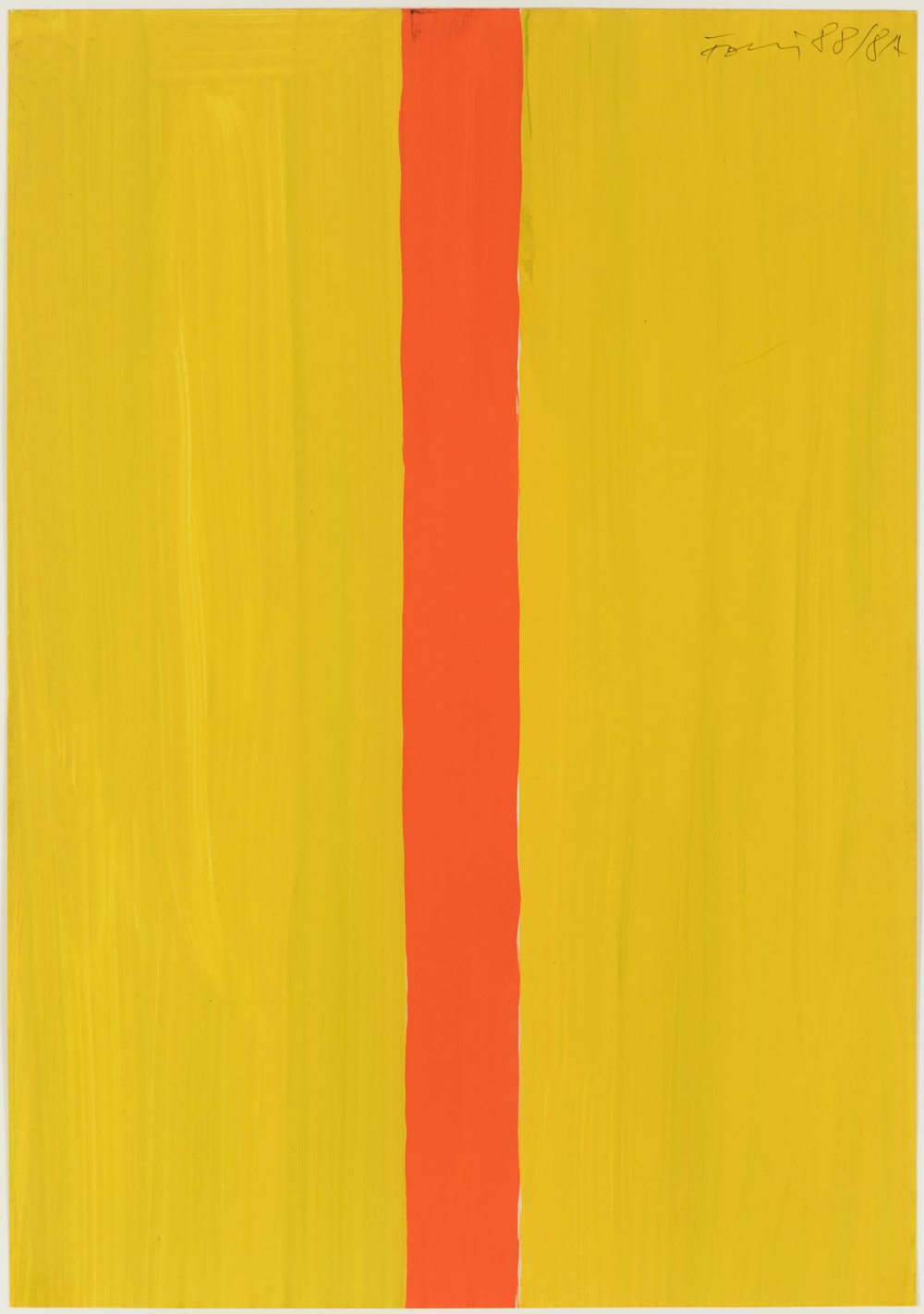 Untitled (yellow-orange)