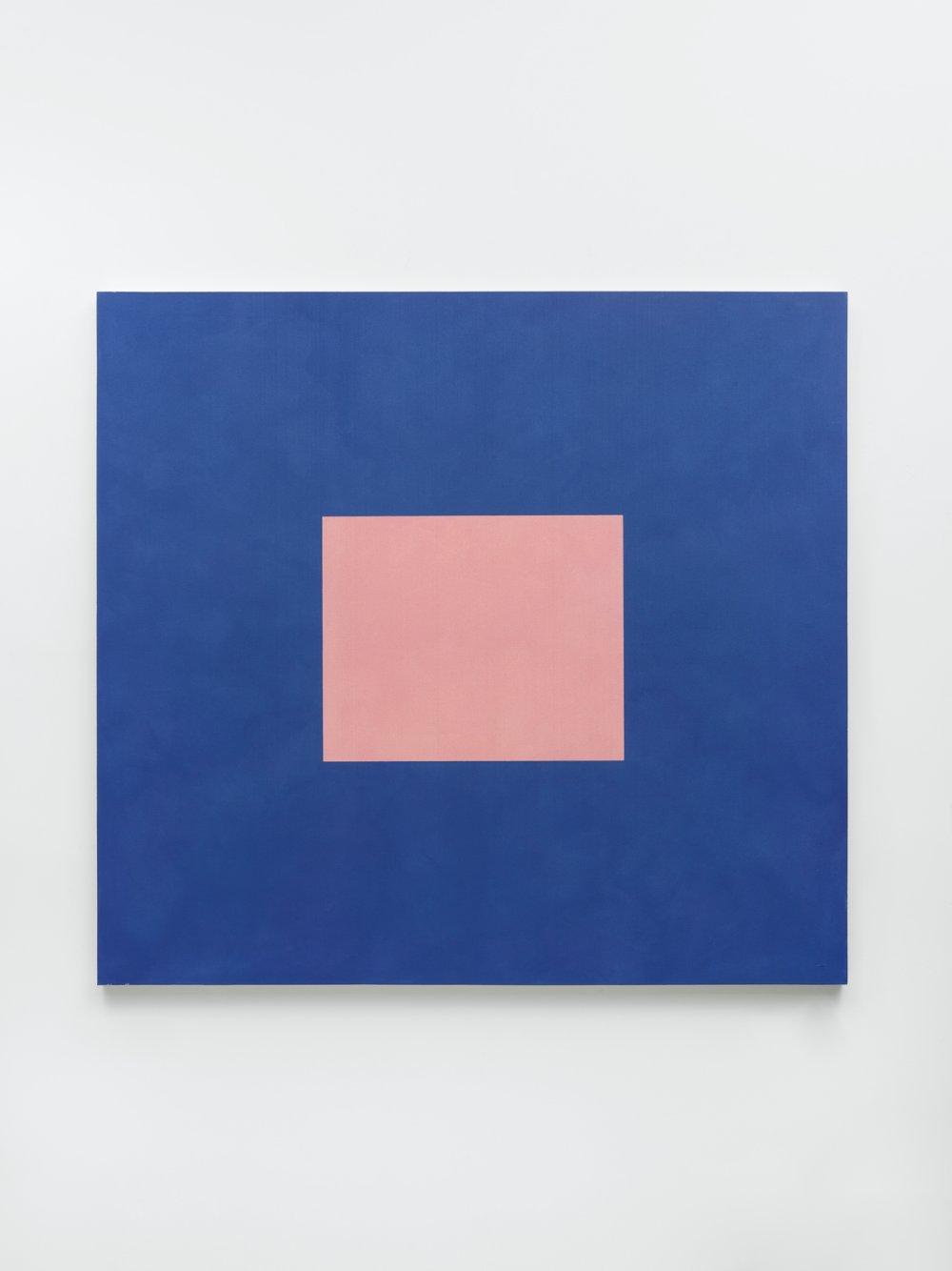Light Pink with Cobalt Blue