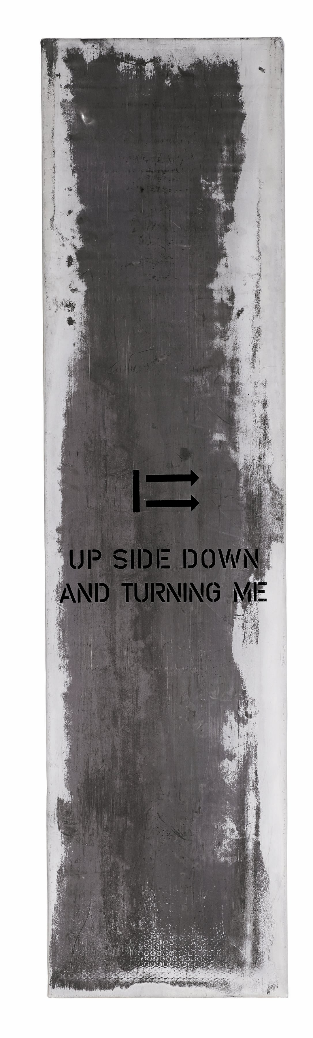 Upside down and turning me