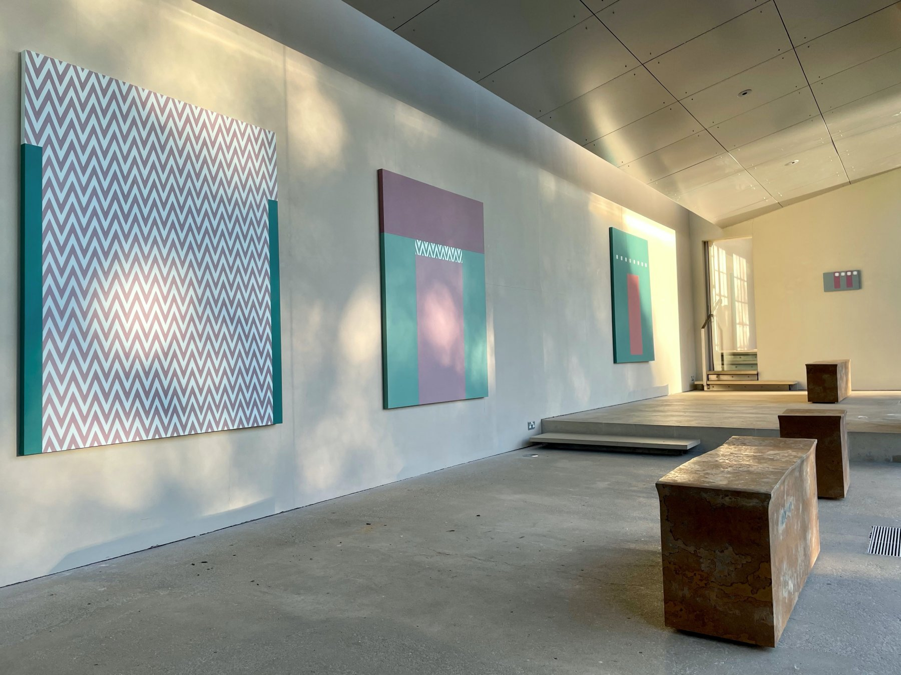 New Art Centre Tess Jaray 1