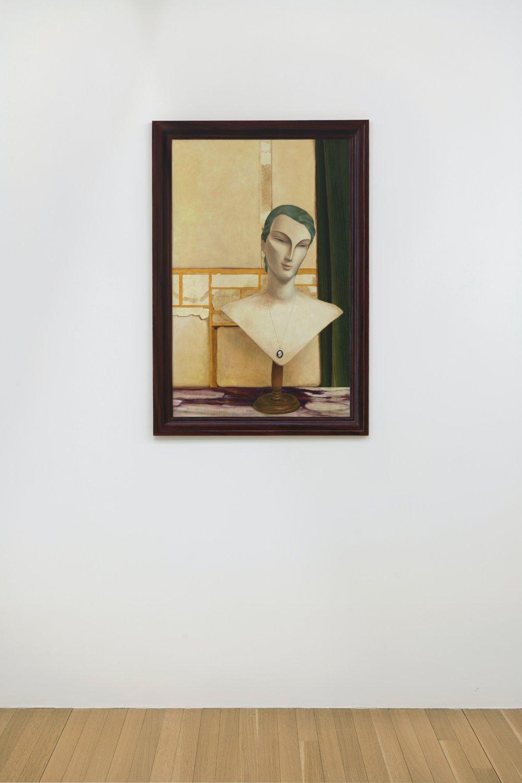 Unfinished Mannequin Portrait III