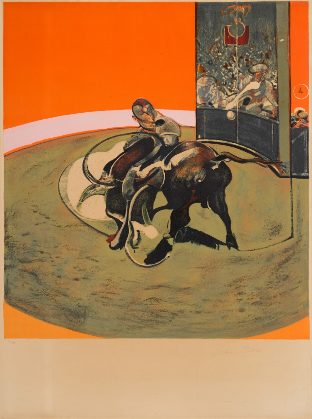 Study for Bullfight No. 1 (S. 10)