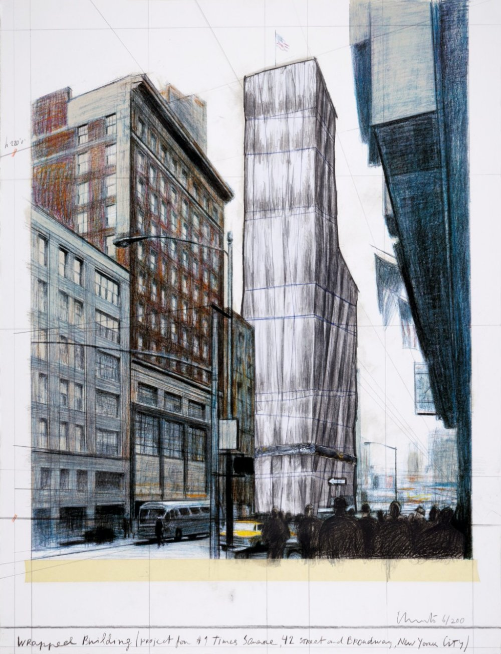 Wrapped Building, Project for #1 Times Square (Schellmann 187)