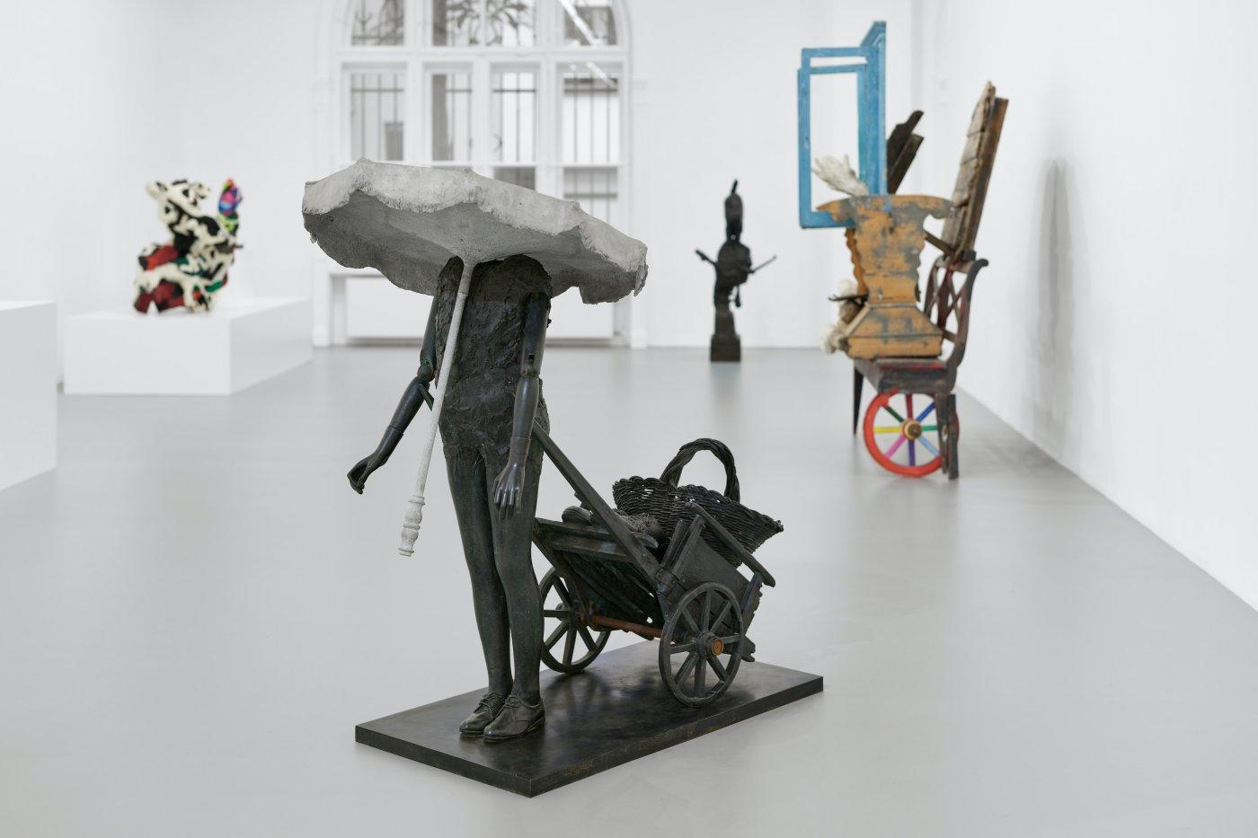Galerie Max Hetzler Goethestrasse Karel Appel 14