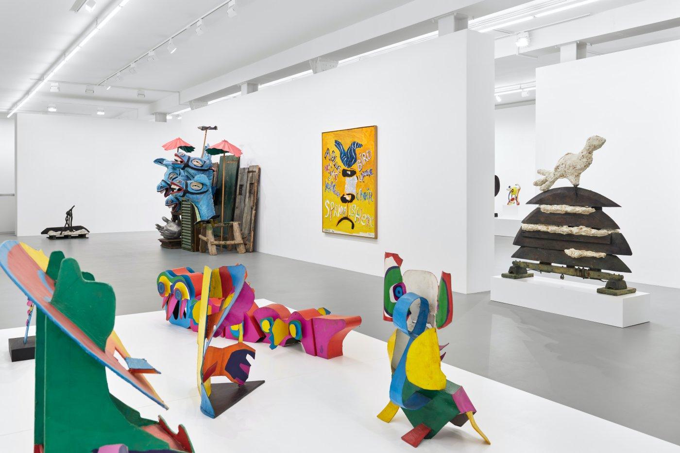 Galerie Max Hetzler Goethestrasse Karel Appel 2