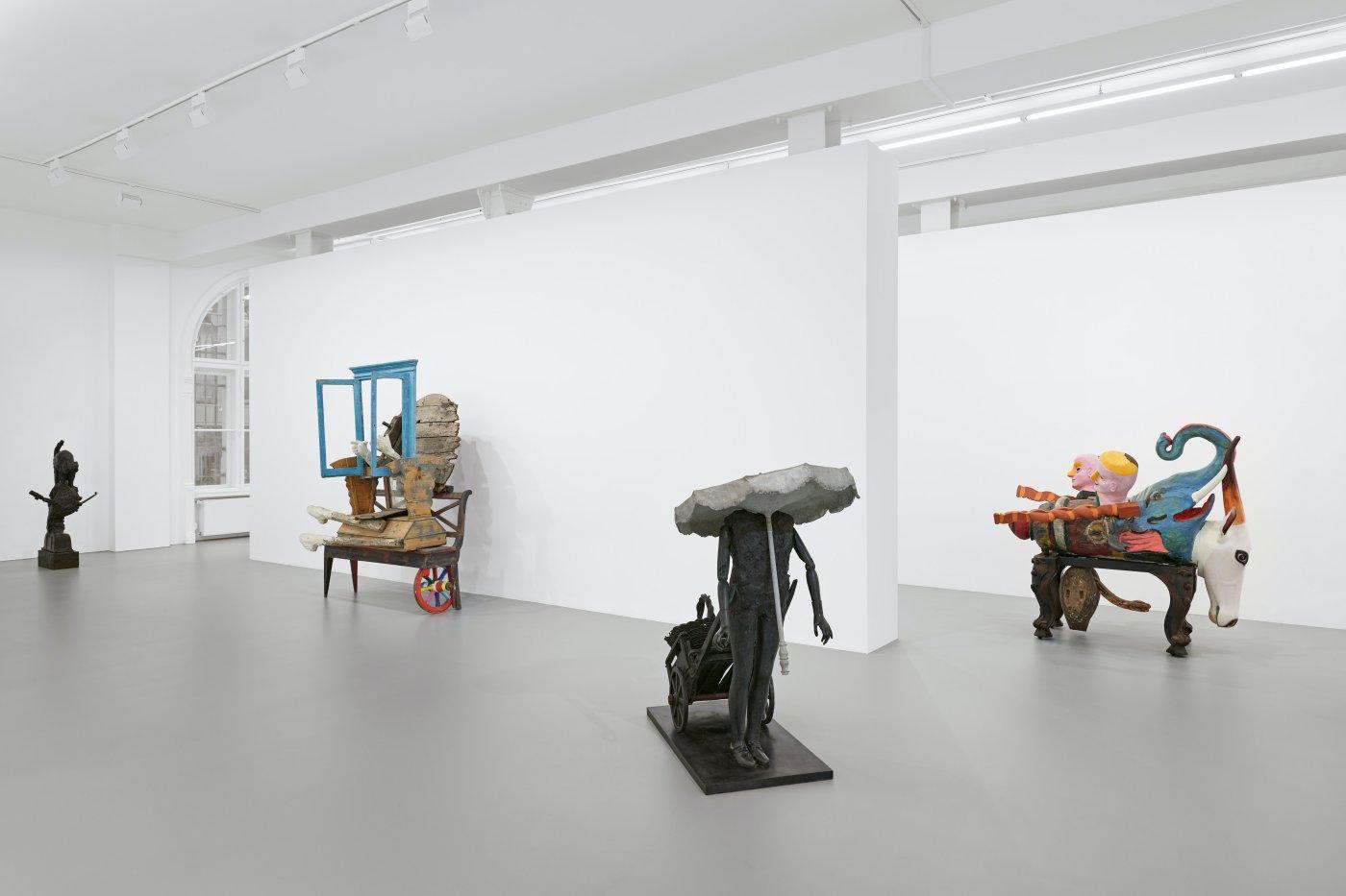 Galerie Max Hetzler Goethestrasse Karel Appel 5