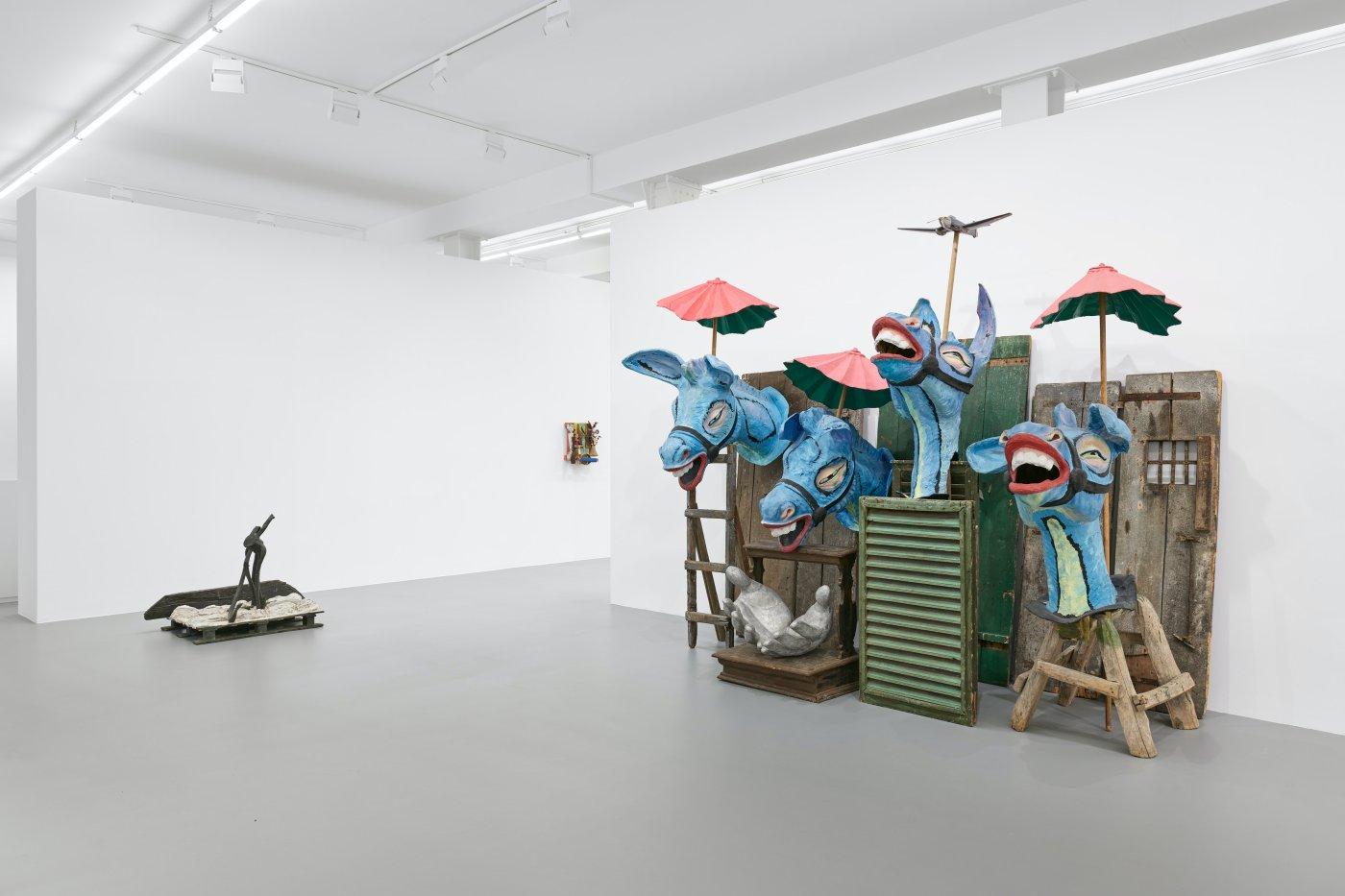 Galerie Max Hetzler Goethestrasse Karel Appel 9
