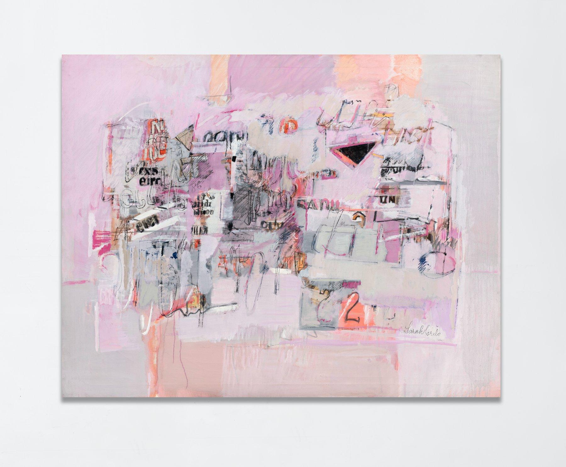Pintura en rosa