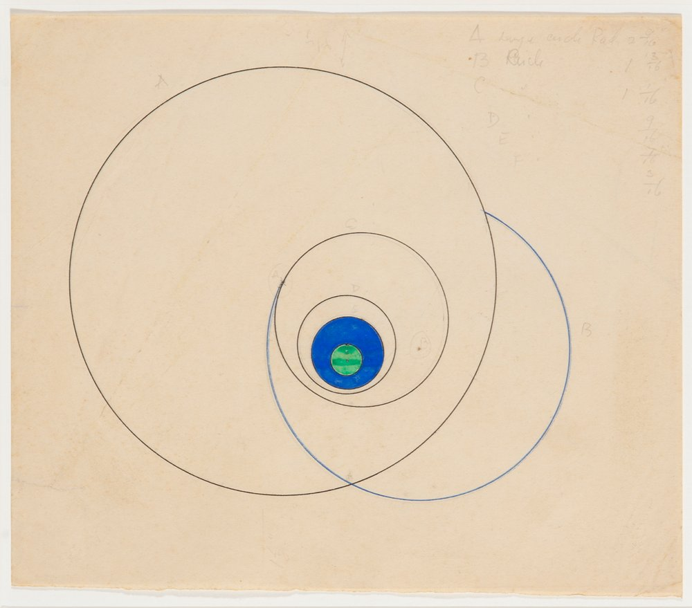 Untitled (Green and blue circle)