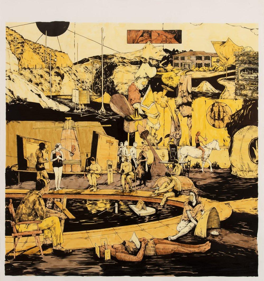 Scenery in Yellow #5