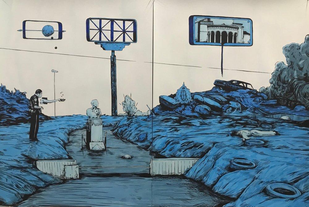 Scenery in Blue #8