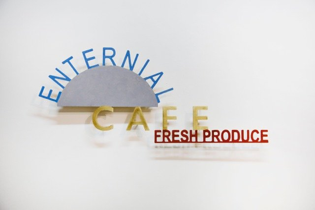 Signs of the Lost District: Enternial Cafe