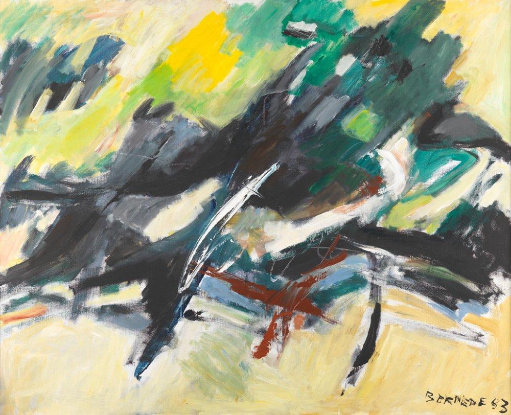 C032 - Composition 83-3 - Ombre et Lumière Paysage