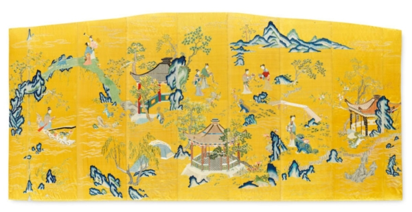 Fine Chinese Art. Including Exceptional Textiles Curated by Linda Wrigglesworth @Bonhams, New Bond Street, London  - GalleriesNow.net