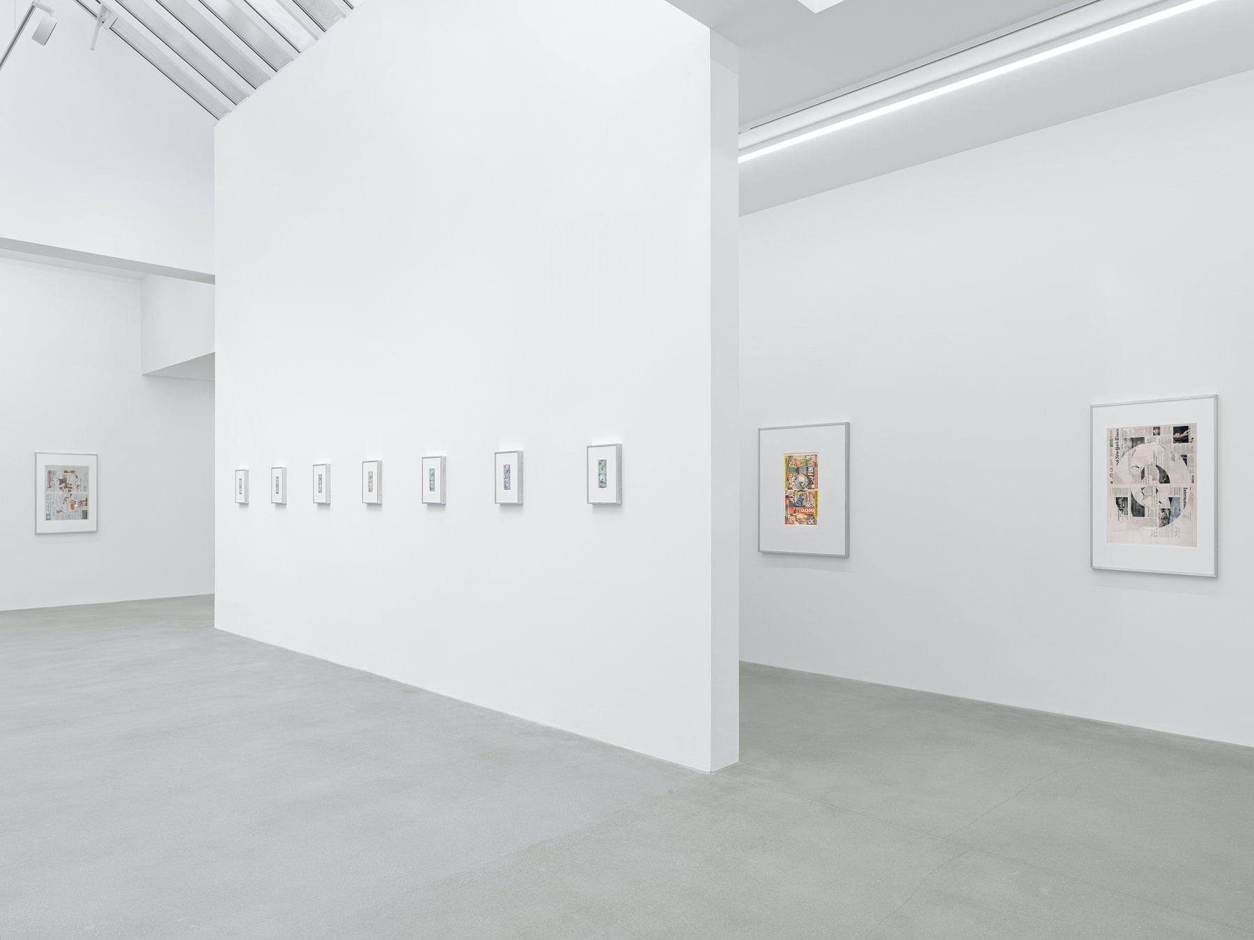 Galerie Eva Presenhuber Waldmanstrasse Walead Beshty 1
