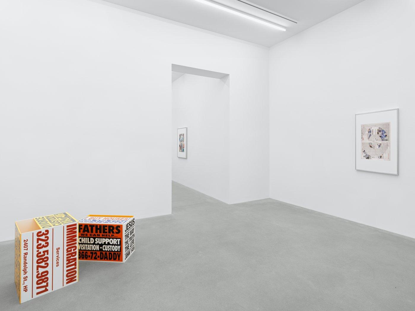 Galerie Eva Presenhuber Waldmanstrasse Walead Beshty 10