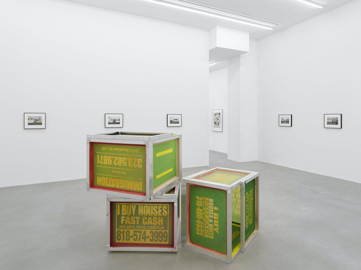 Galerie Eva Presenhuber Waldmanstrasse Walead Beshty 9