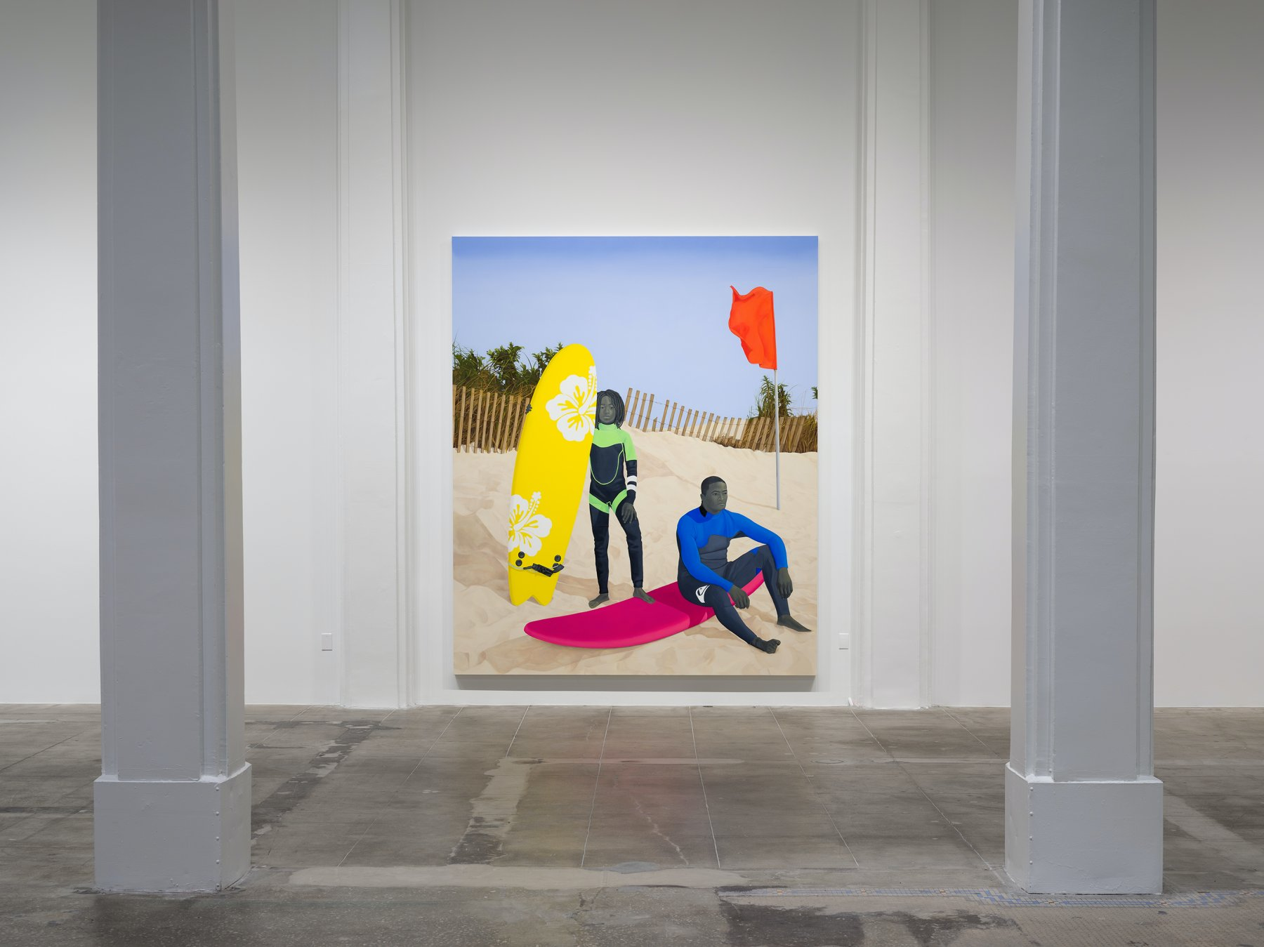 Hauser Wirth Los Angeles Amy Sherald 1
