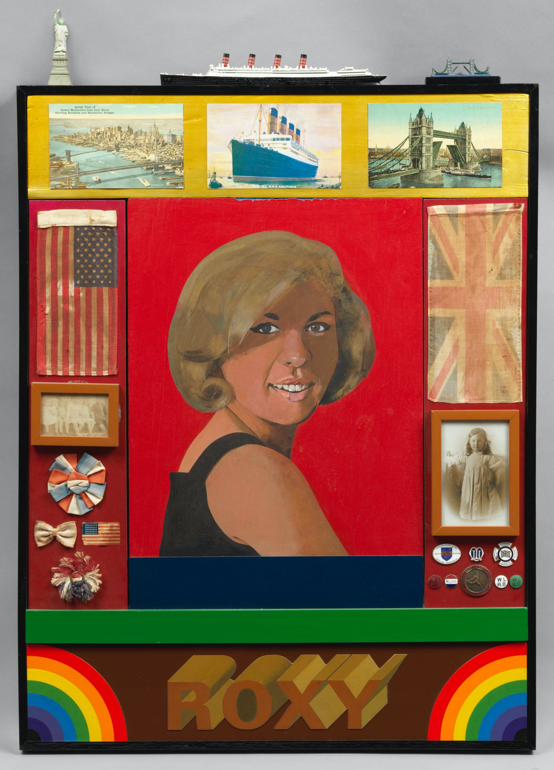 Hazlitt Holland-Hibbert, Peter Blake, Roxy Roxy, 1965-1983