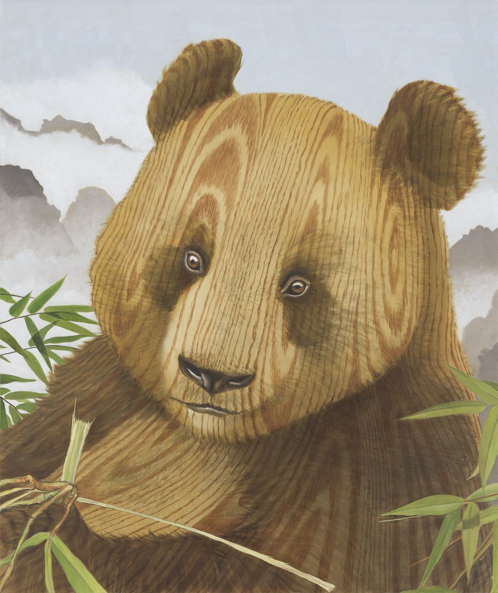 Wood Panda