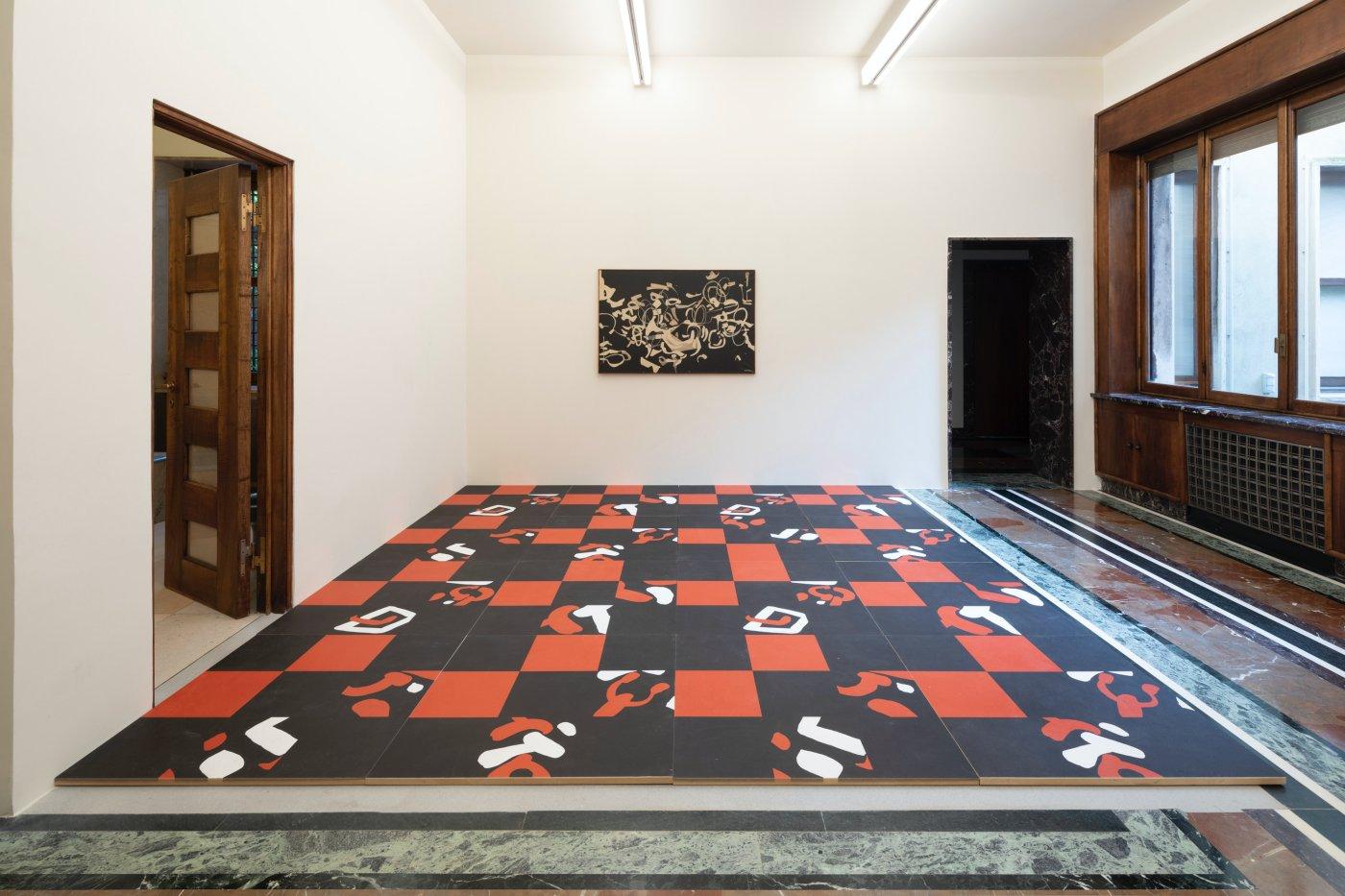 Massimo de Carlo Carla Accardi at Home 11
