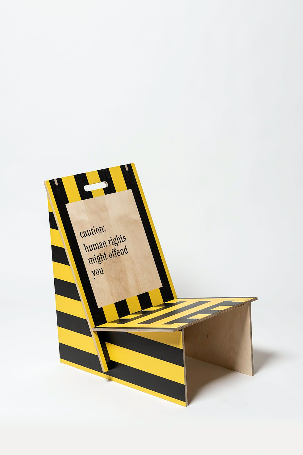 Warning Stripes Chairs