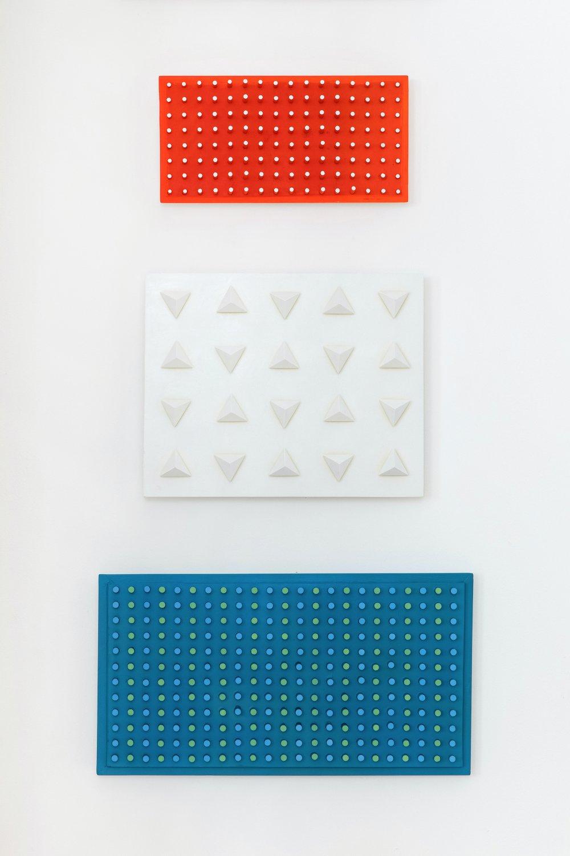 Triptych (Nul): Rood-Wit-Blauw & Orange Pennon