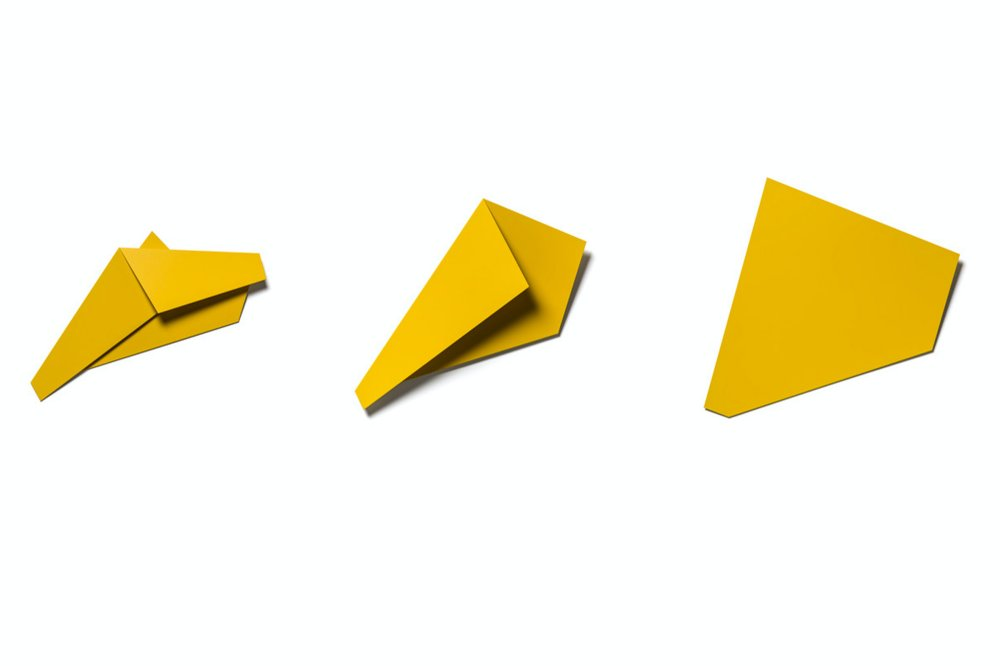Yellow Folded Flat Sequence 03 A-C
