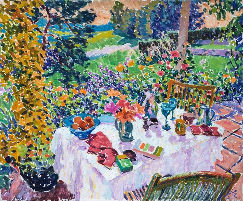 Dejeuner au Jardin