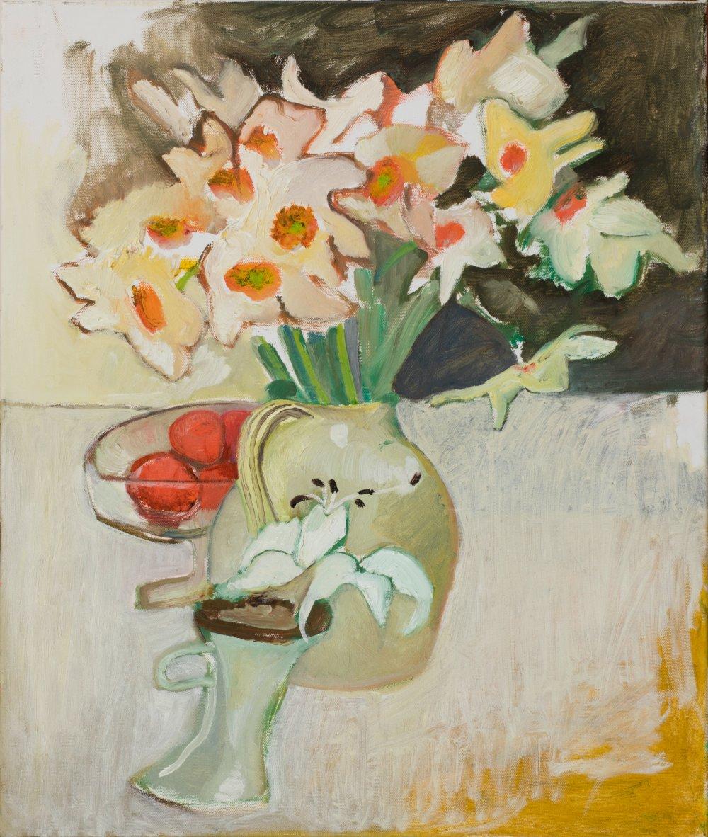 Daffs, Lillies and Oranges