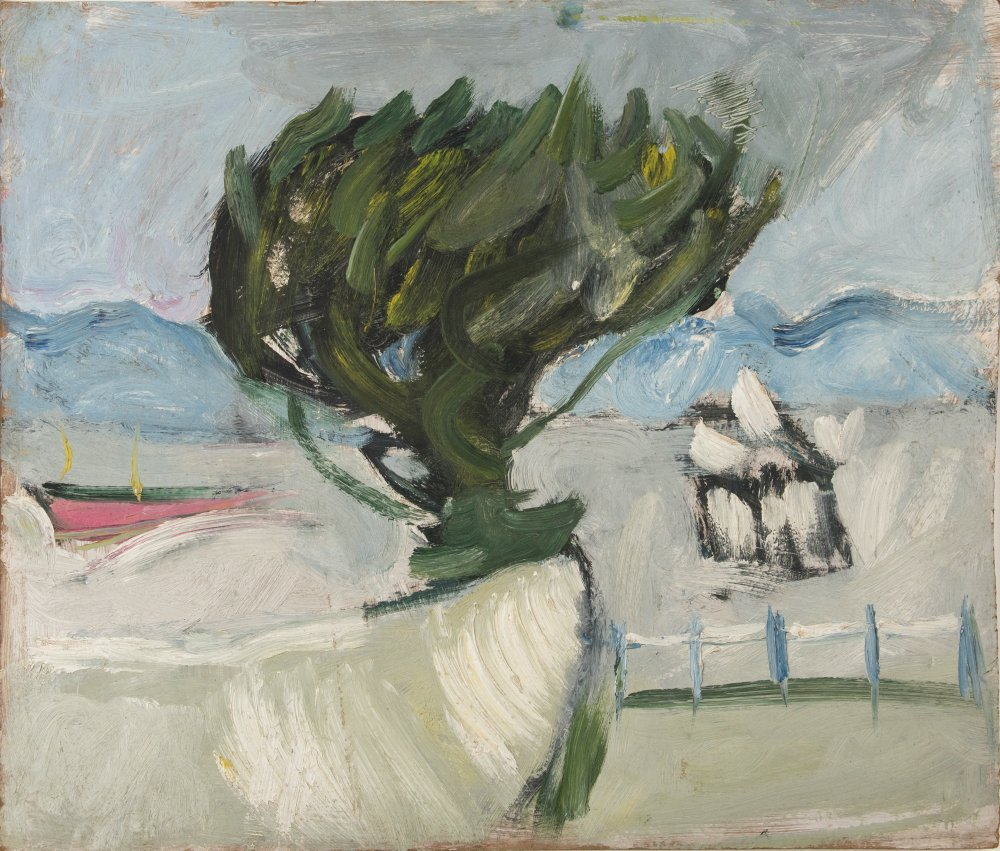 Clevedon Pier with Tree II