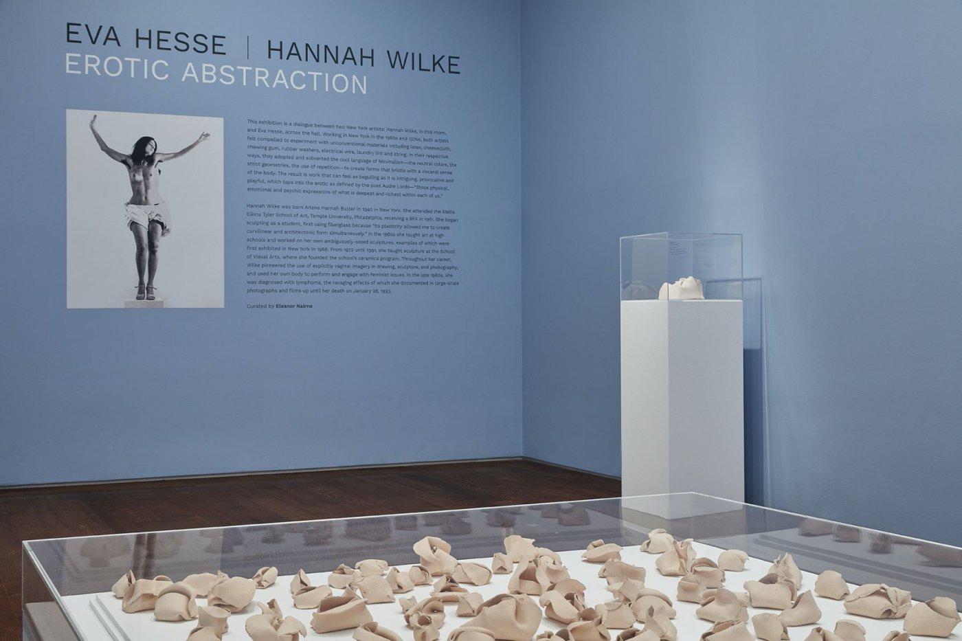 Acquavella Eva Hesse Hannah Wilke 3