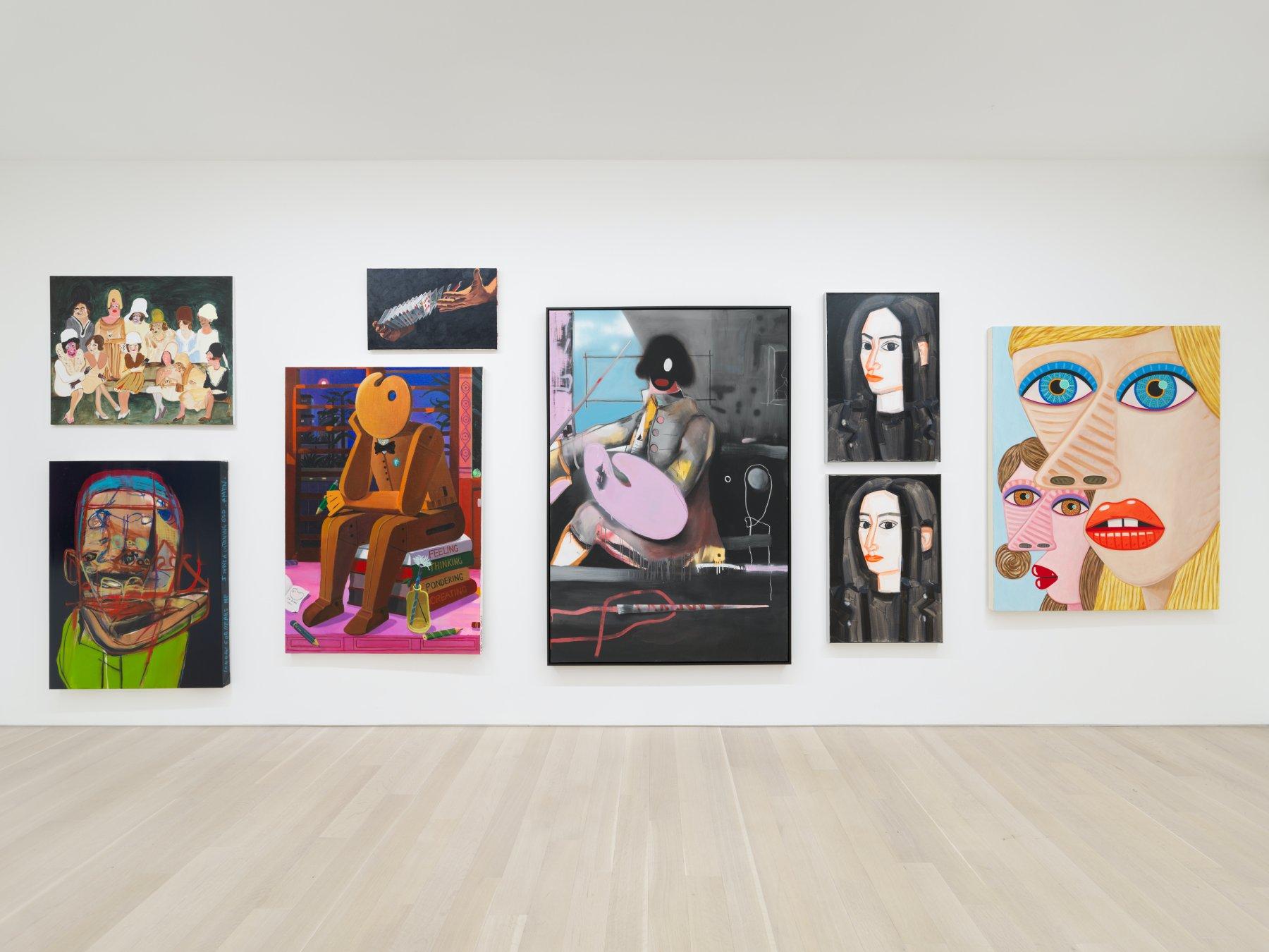 Almine Rech New York Salon de Peinture 1
