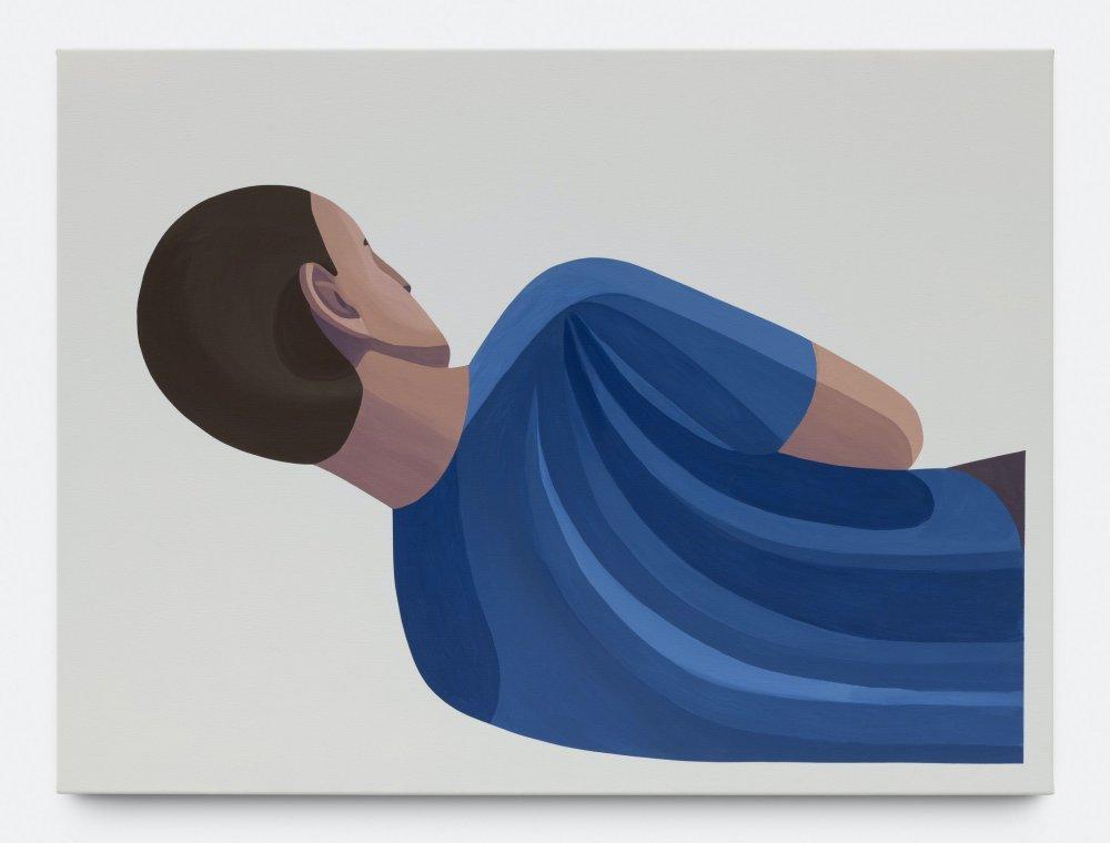 Figure Sleeping Outside Clipped