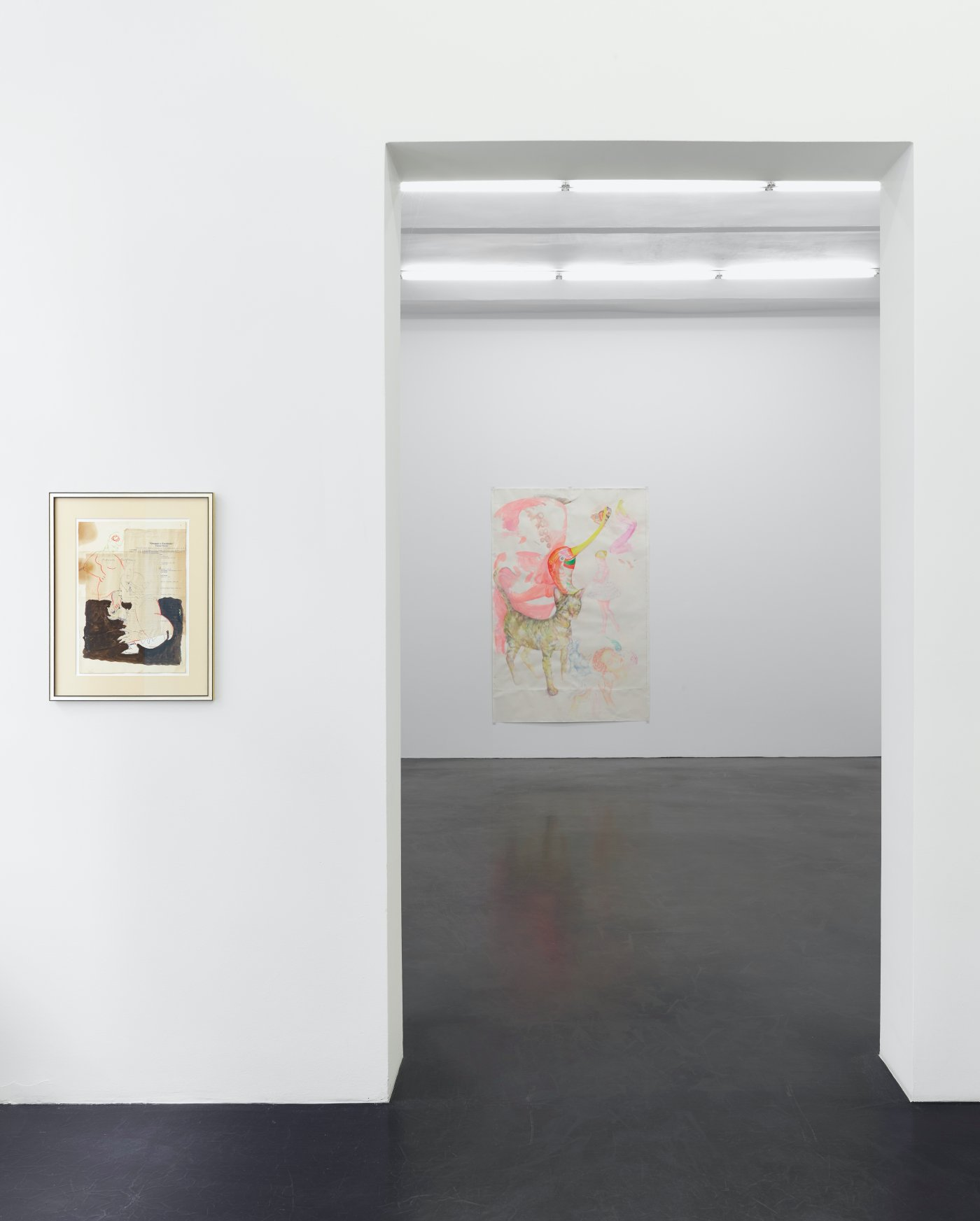 Galerie Buchholz Cologne Lukas Duwenhogger Katharina Wulff 2