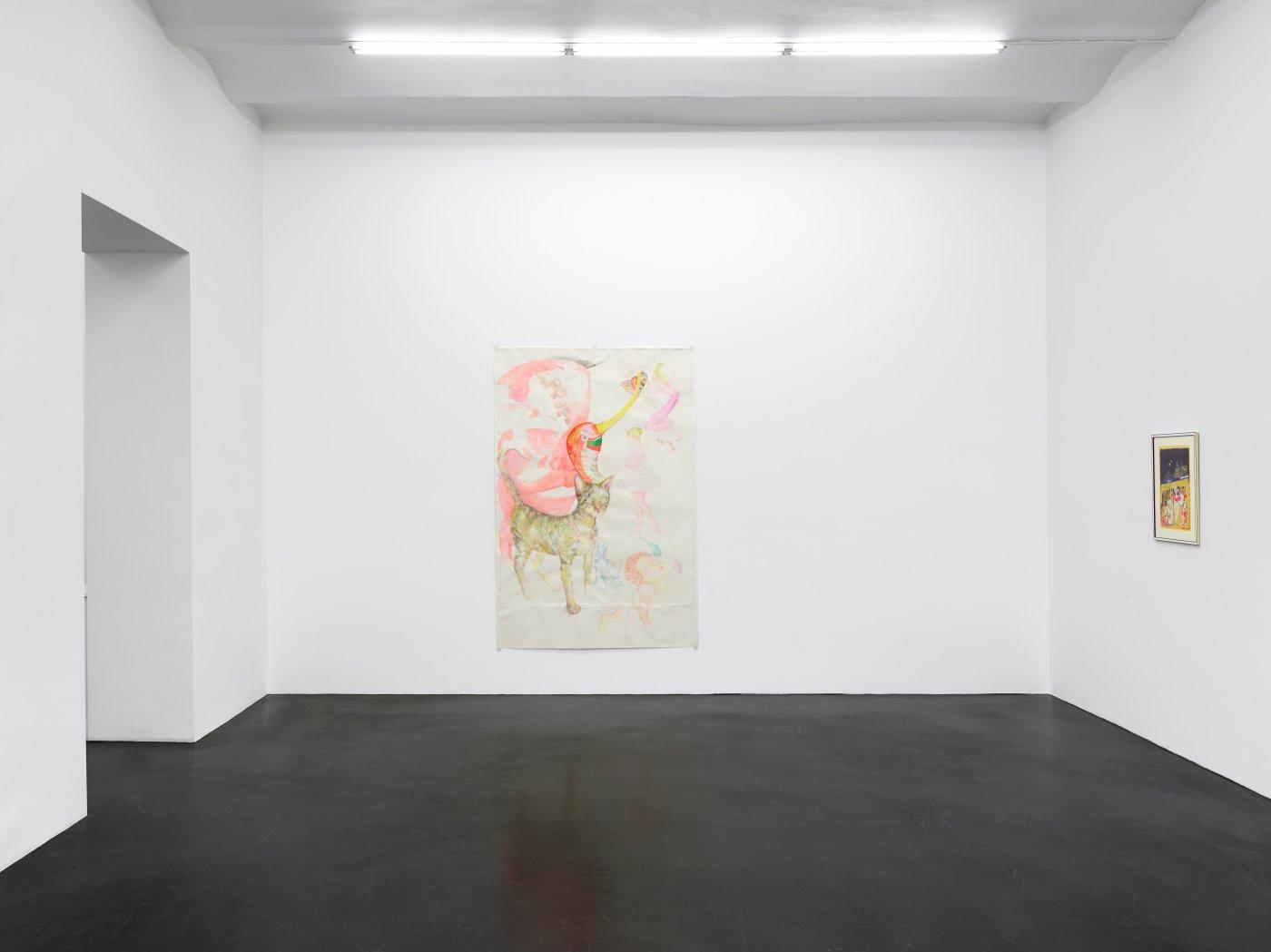 Galerie Buchholz Cologne Lukas Duwenhogger Katharina Wulff 3