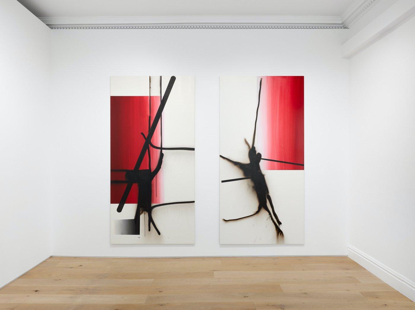 Galerie Max Hetzler London Carroll Dunham Albert Oehlen 6