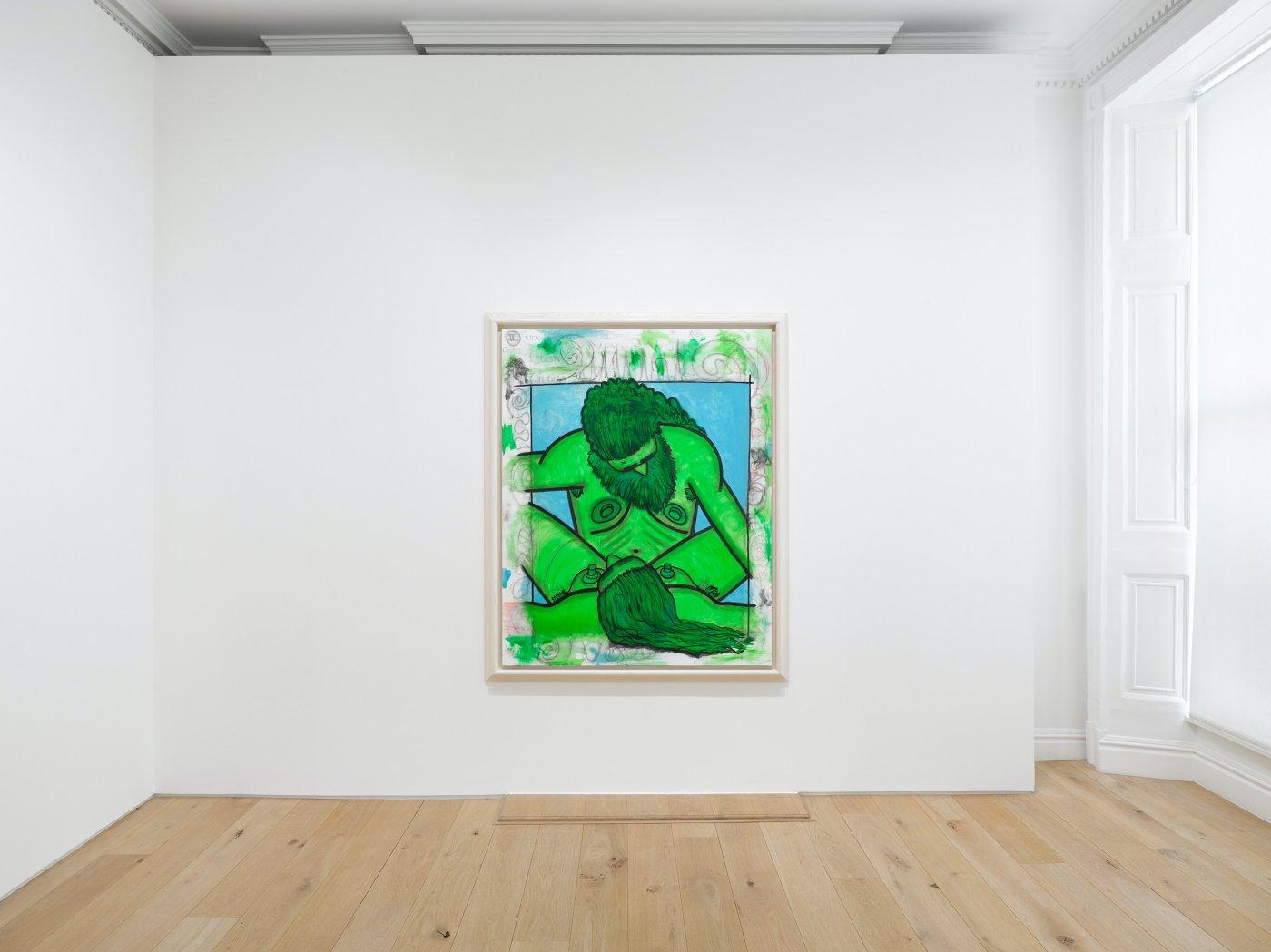 Galerie Max Hetzler London Carroll Dunham Albert Oehlen 8