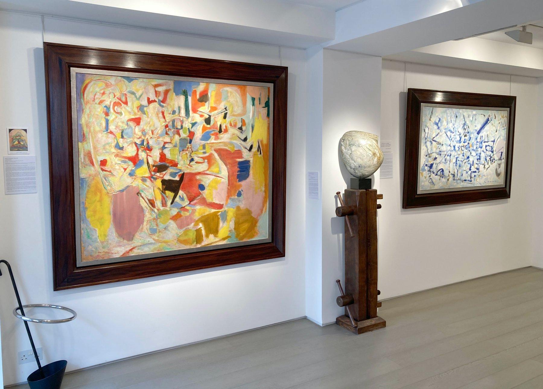 Hanina Fine Arts Spirituality Abstraction in post-war Europe 1