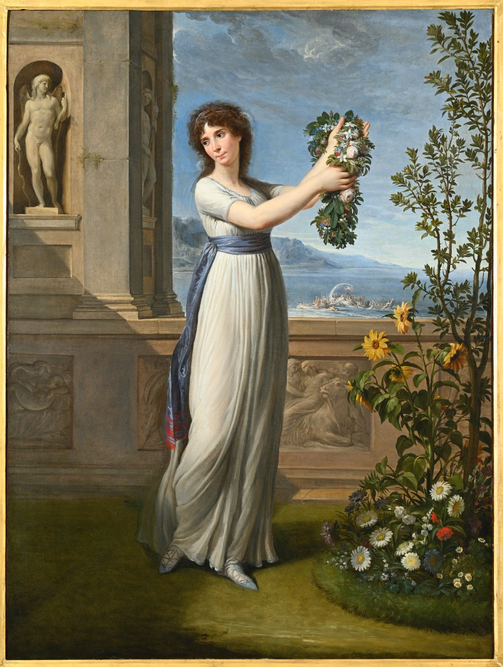 Josephine Bonaparte Crowning the Myrtle Tree
