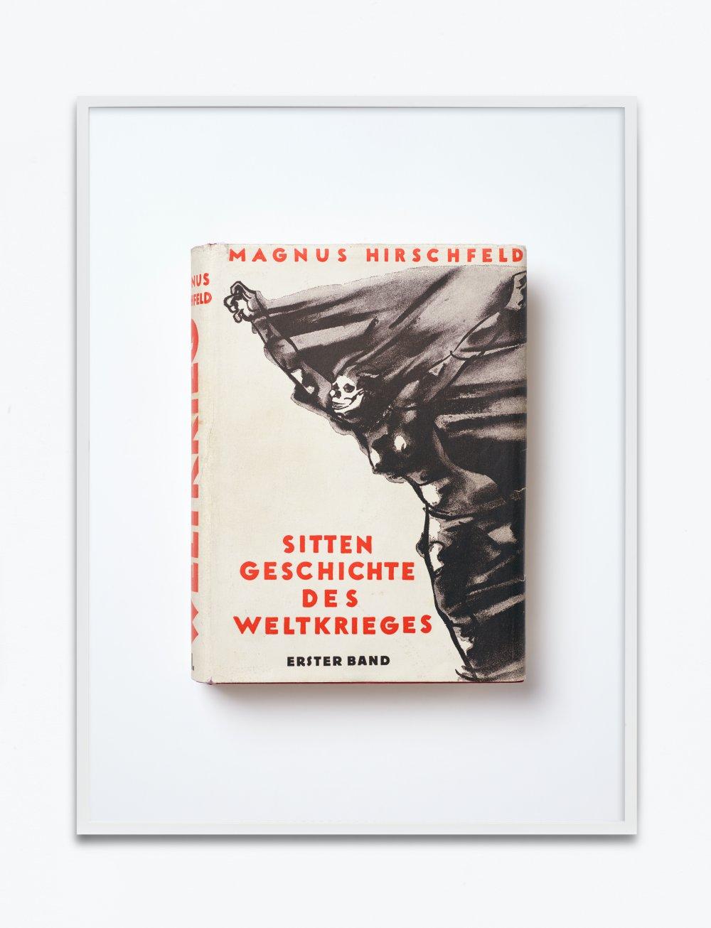 Magnus Hirschfeld, Sittengeschichte des Weltkrieges, 1930, herausgegeben von Sanitätsrat Dr. Magnus Hirschfeld, Erster Band, Verlag für Sexualwissenschaft Schneider & Co., Leipzig, Wien