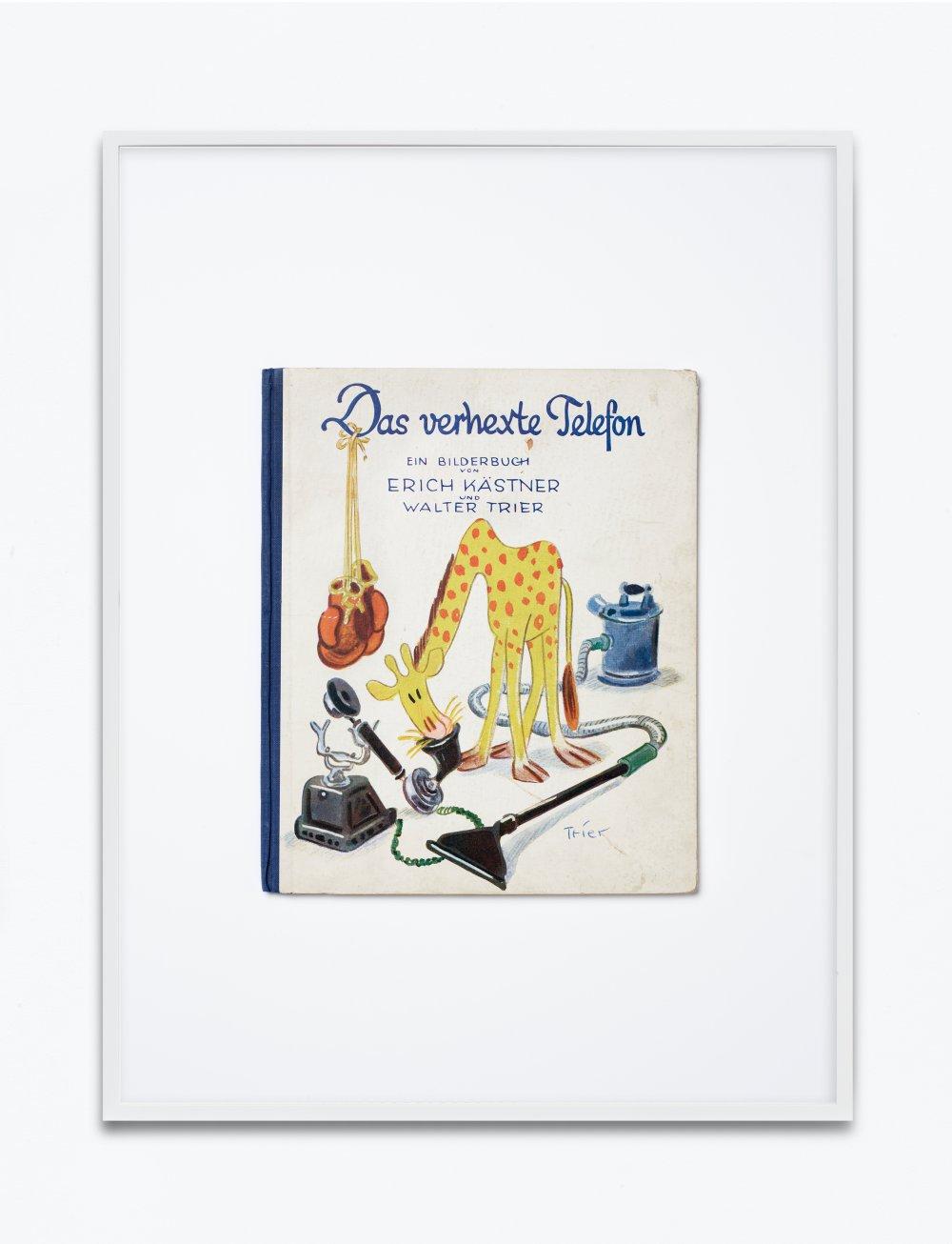 Erich Kästner, Das verhexte Telefon, 1935, Williams & Co. Verlag GmbH, Berlin-Grunewald, Copyright Atrium Verlag AG, Zürich, 1935, Einbandgestaltung Walter Trier