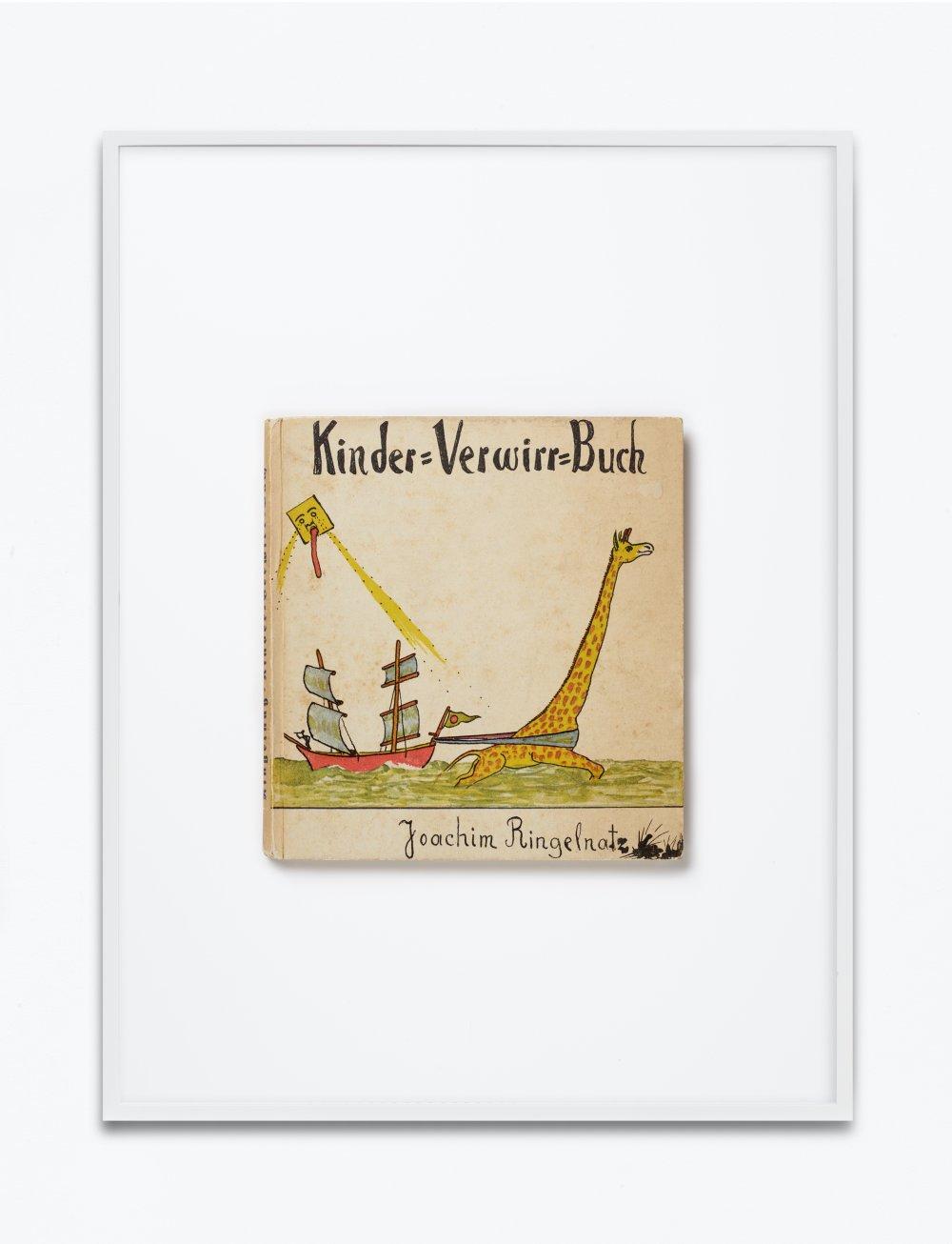 Joachim Ringelnatz, Kinder Verwirr Buch, 1931, Ernst Rowohlt Verlag, Berlin, Einbandgestaltung Joachim Ringelnatz