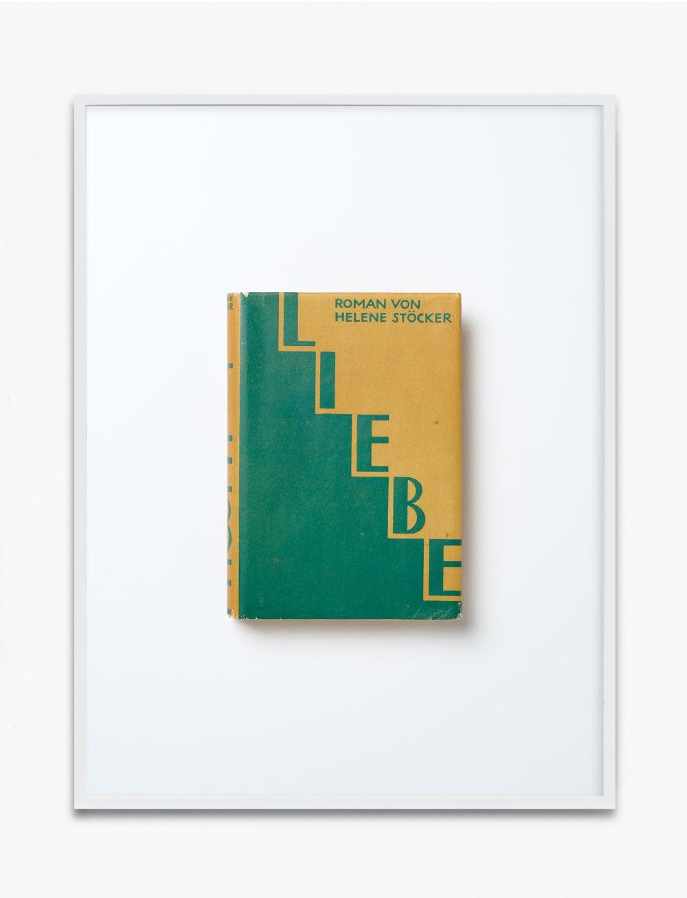 Helene Stöcker, Liebe, 1927, Verlag der Neuen Generation, Berlin-Nikolassee, Einbandgestaltung John Heartfield