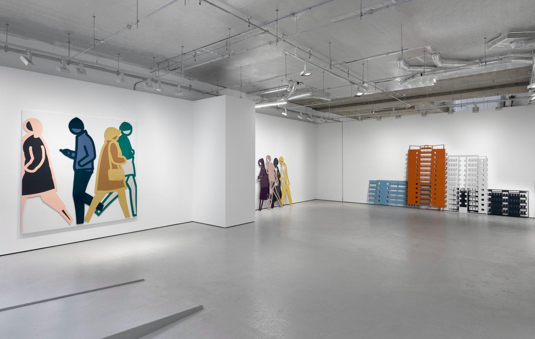 Lisson-Gallery-Cork-St-Julian-Opie 1